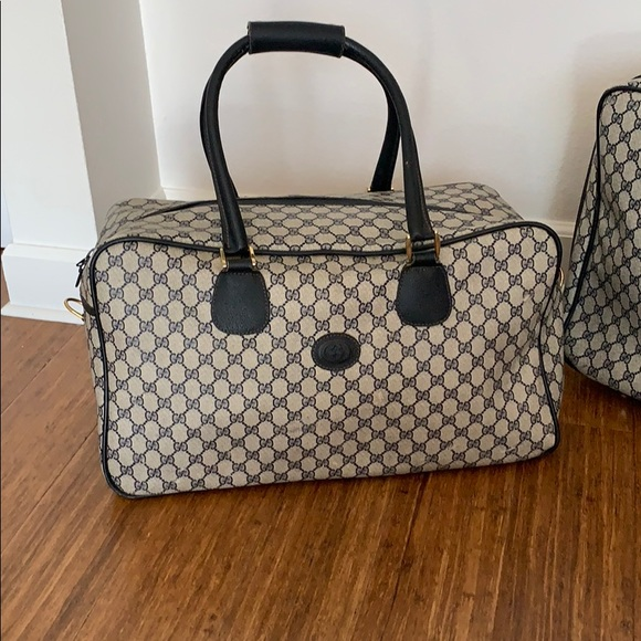4bec0714fbe695 Gucci Bags | Authentic Vintage Duffle Bag | Poshmark